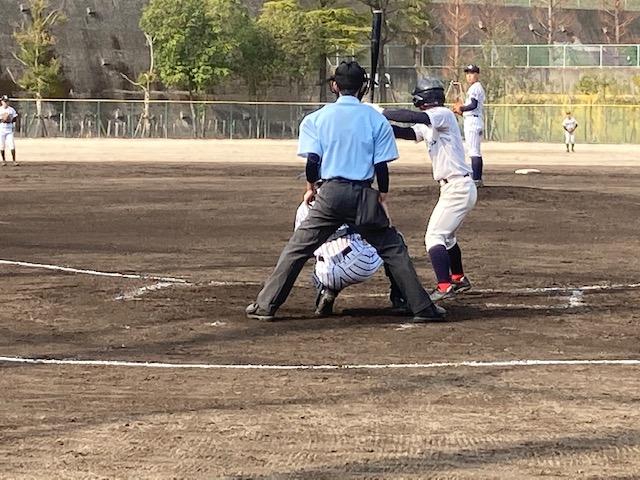 卒塾生の野球観戦へ